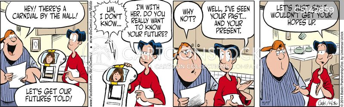 dull lives cartoon