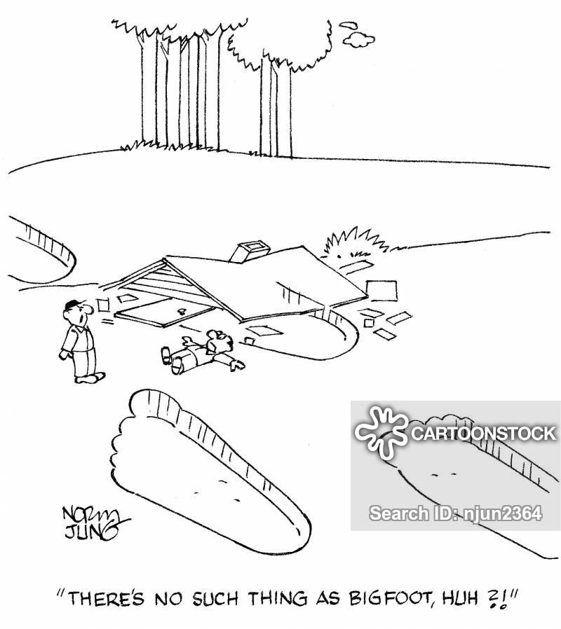 big-foot cartoon