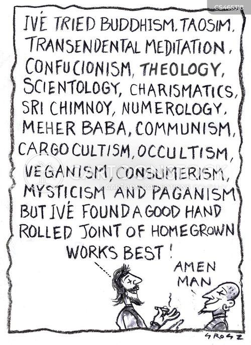 charismatics cartoon