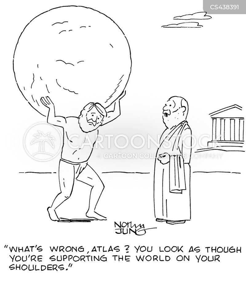 world on your shoulders cartoon