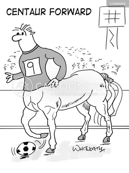 striker cartoon
