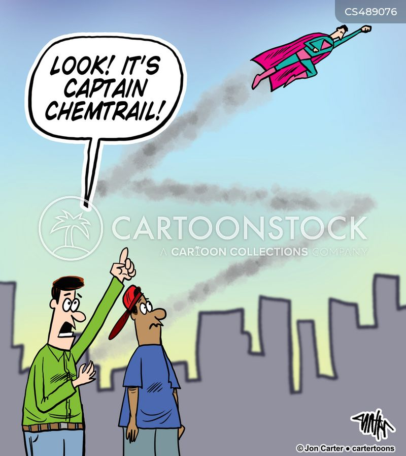 environmental pollution cartoon