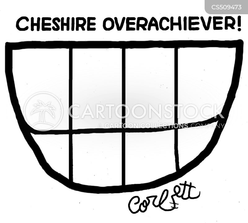 cheshire cartoon