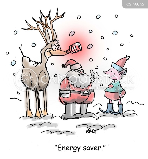 red nosed reindeer cartoon