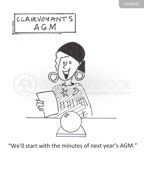 annual general meeting cartoon