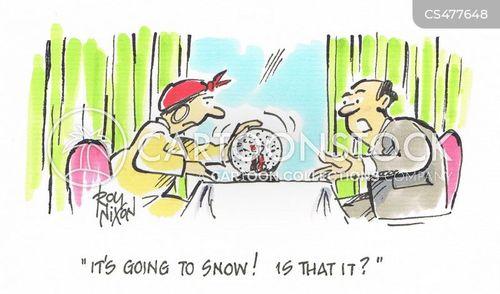 snow-globe cartoon