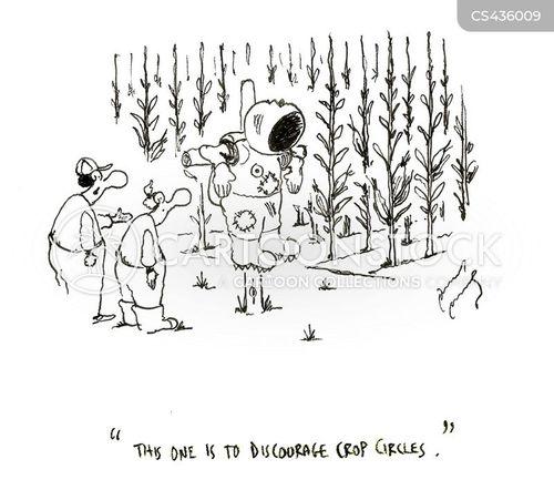 crop circle cartoon