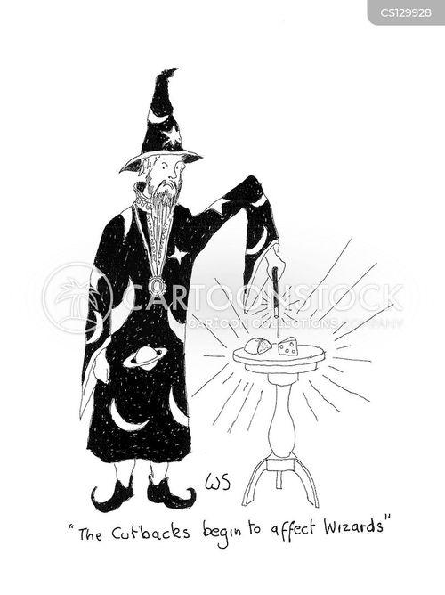 wands cartoon