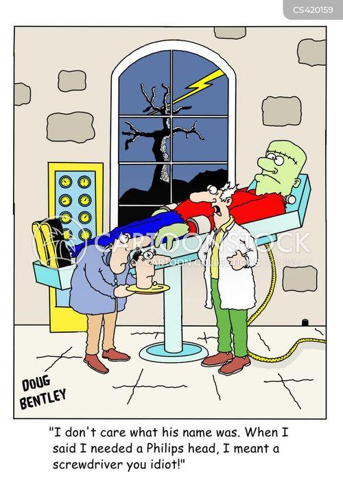 lab assistant cartoon