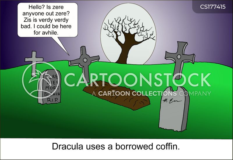 gothic cartoon
