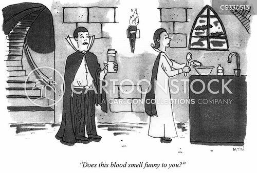 vampiric cartoon