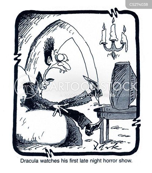 horror show cartoon