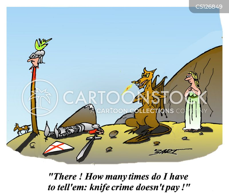 st george and the dragon cartoon