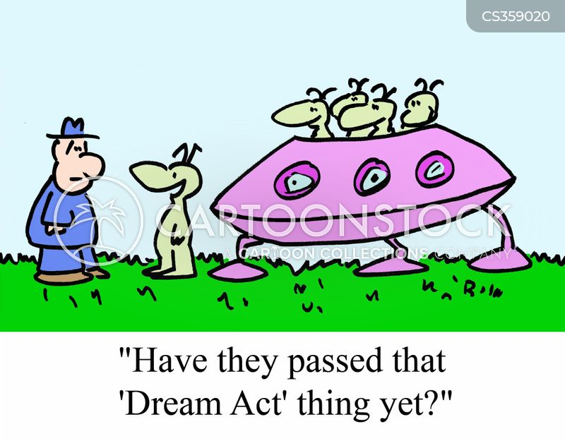 dream act cartoon