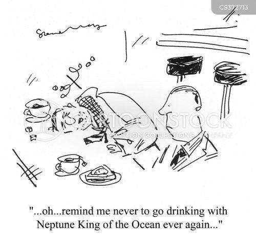 roman god cartoon