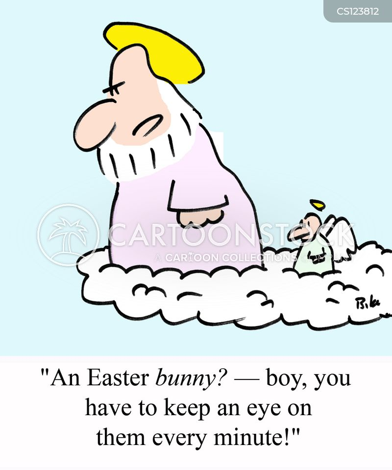 easter tradition cartoon