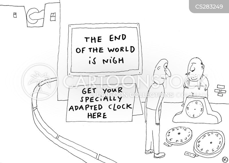 end of times cartoon