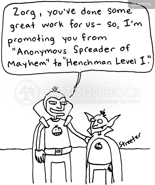henchman cartoon