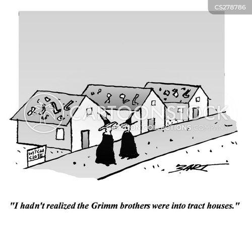 housing developments cartoon
