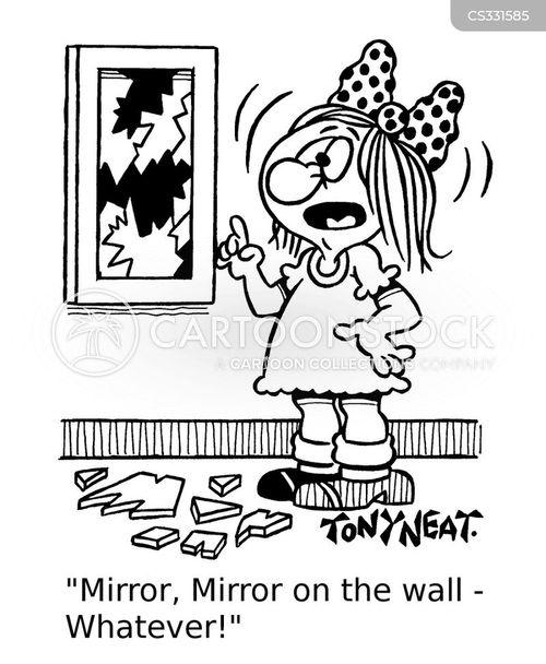 evil queen cartoon