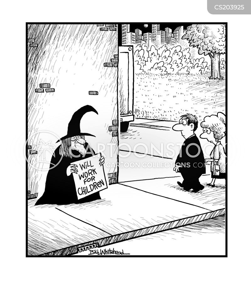 evil witches cartoon