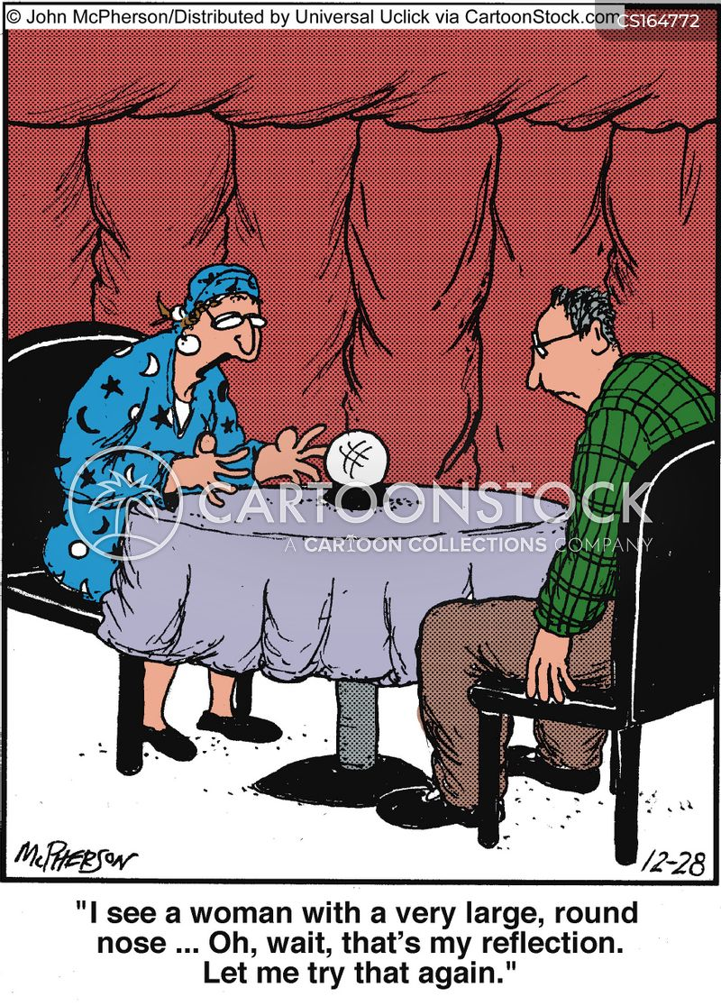 Fortune Teller Cartoons And Comics Funny Pictures From