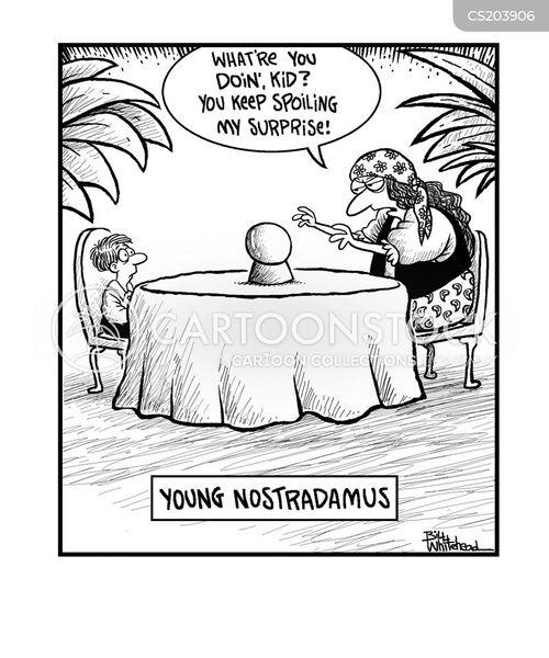 nostradamus cartoon