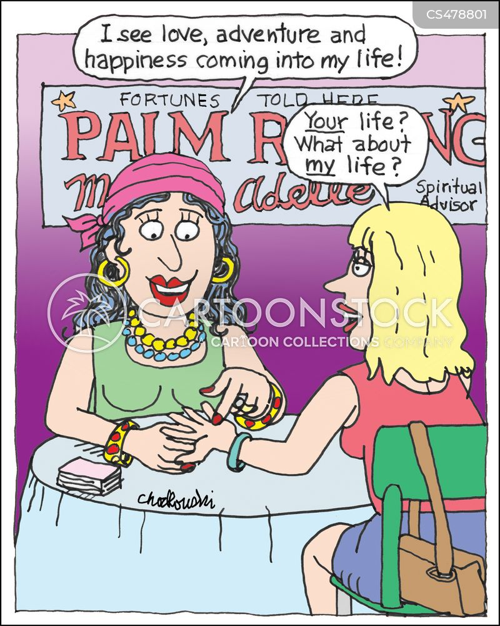 chiromancer cartoon