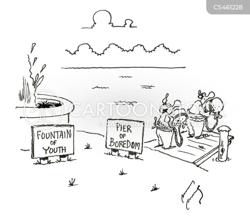 fountain of youth cartoon