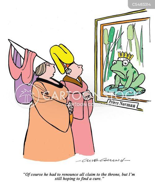 the frog prince cartoon