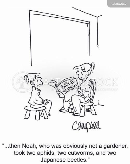horticulturist cartoon