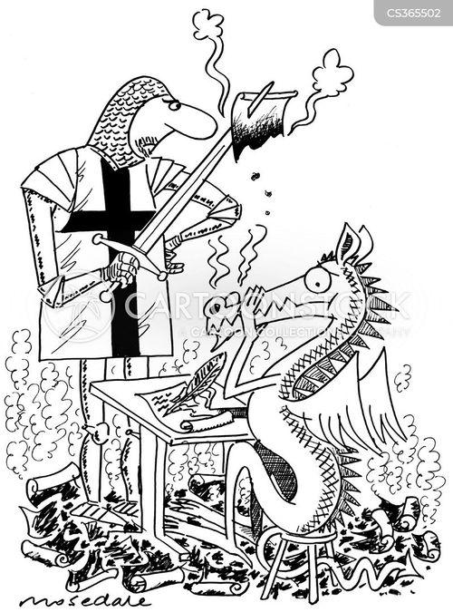 george dragon cartoon