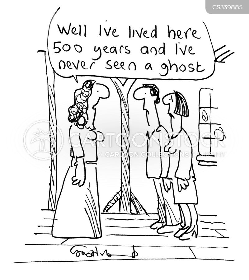 apparition cartoon
