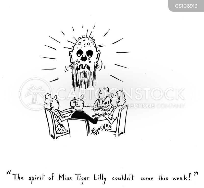 Ouija Boards Cartoons and Comics - funny pictures from