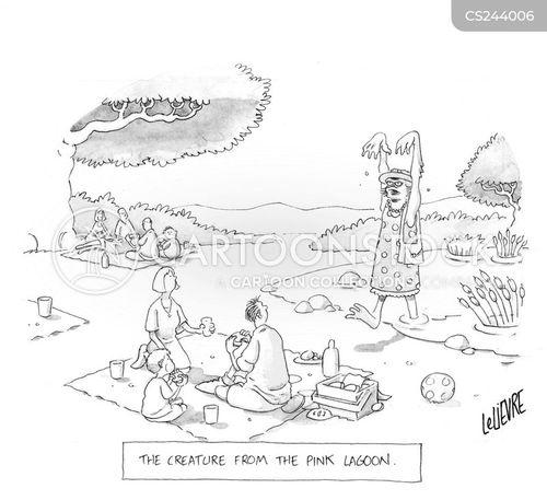lagoons cartoon