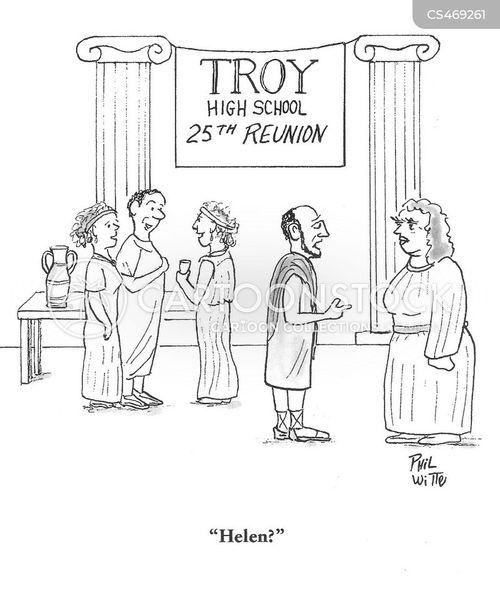 helen of troy cartoon
