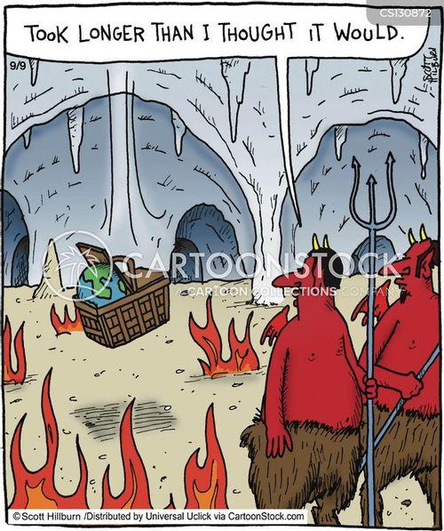 diablos cartoon
