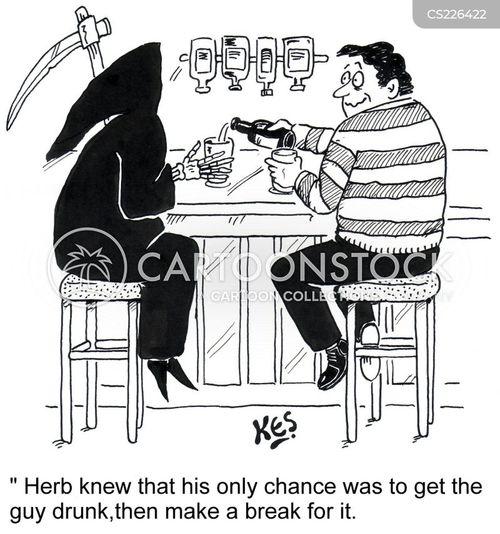 wine bars cartoon