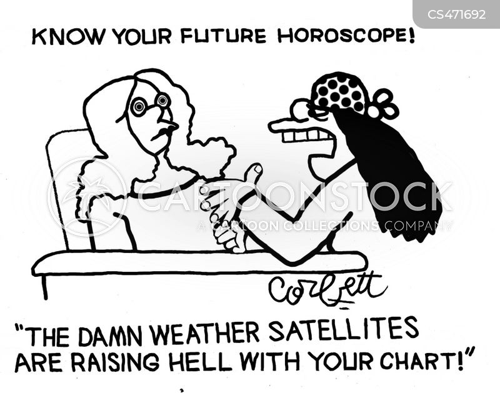 weather satellite cartoon