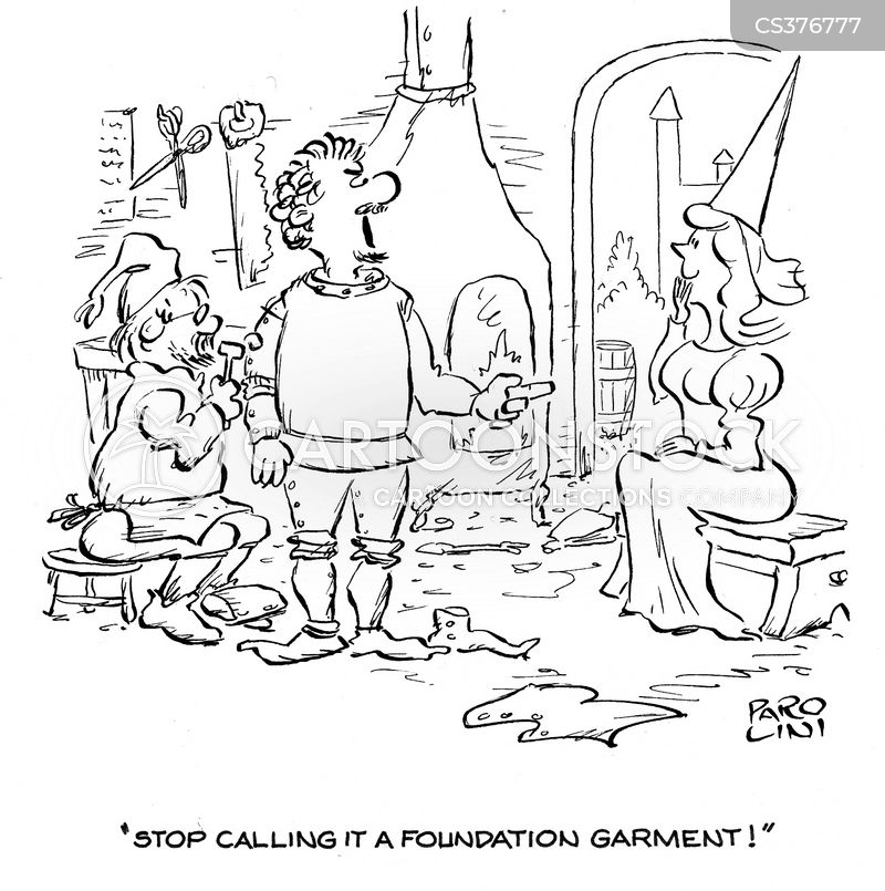garment cartoon