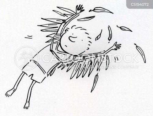 flie cartoon