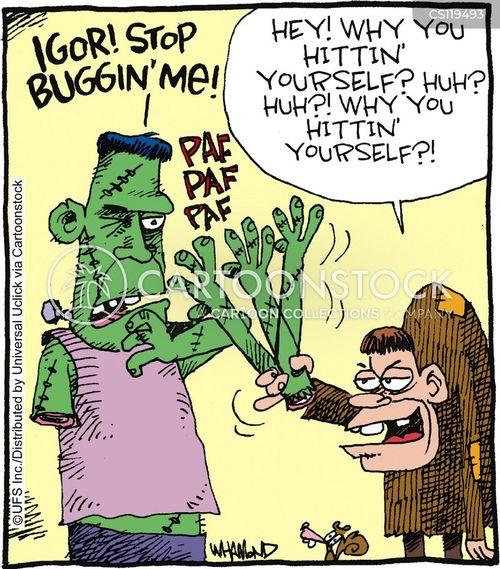 teased cartoon