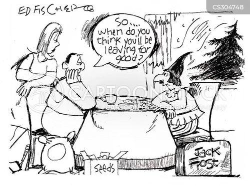 jack frost cartoon