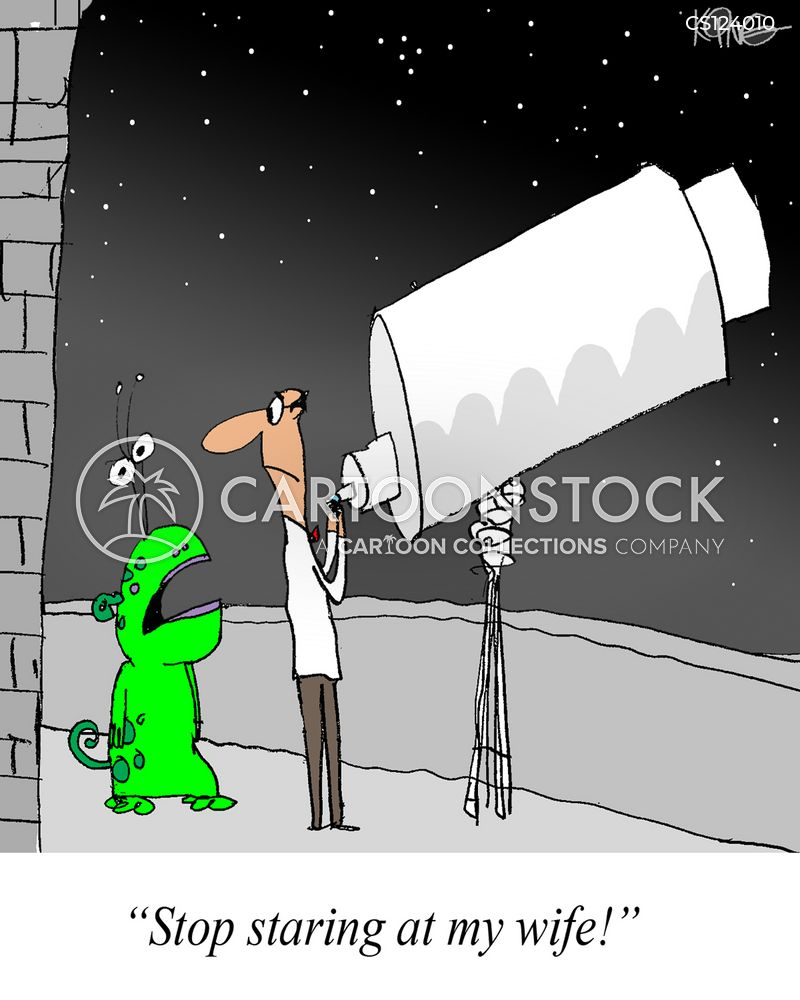 telescope cartoon