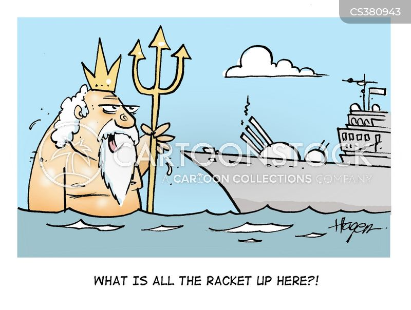 trident cartoon
