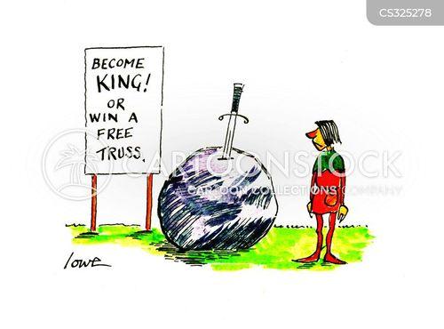 magical swords cartoon