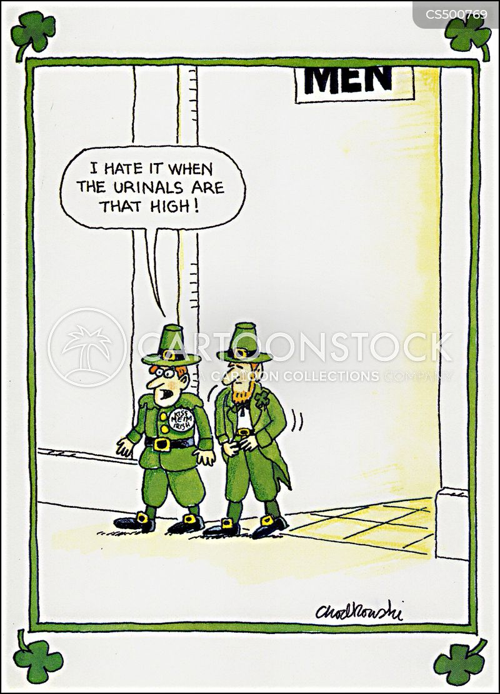 luck of the irish cartoon