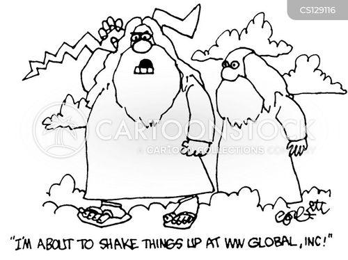 shake up cartoon