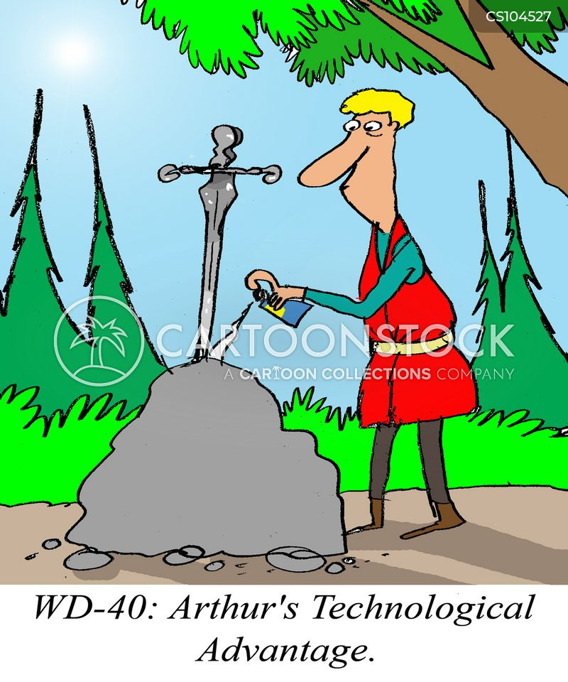 Excalibur cartoons, Excalibur cartoon, funny, Excalibur picture, Excalibur pictures, Excalibur image, Excalibur images, Excalibur illustration, Excalibur illustrations