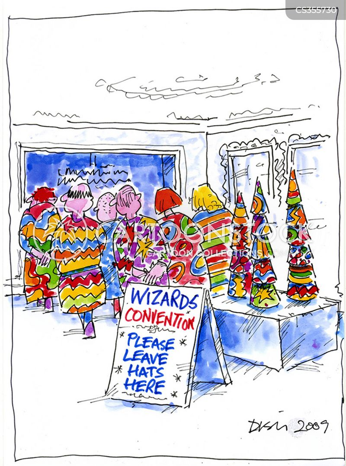 cloakroom cartoon